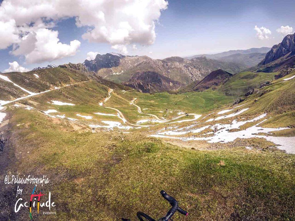 La Cubilla, final de etapa de la Vuelta en Asturias